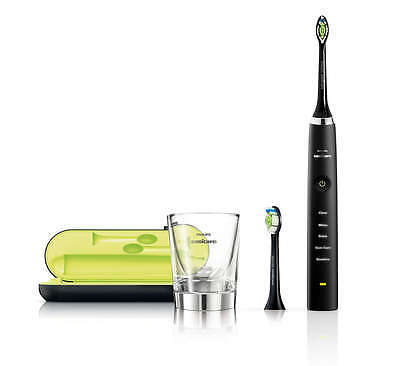 Philips Sonicare Diamondclean Electric Toothbrush Hx9352/04 (Black) Free Postage