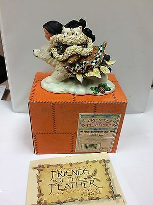 FRIENDS OF THE FEATHER Journey Friendship Never Ends Eskimo Polar Bear 384135