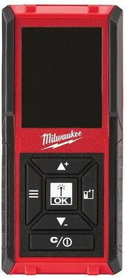 Milwaukee Laser Distance Meter 150 ft. Backlit Color Screen Auto-detecting Lever