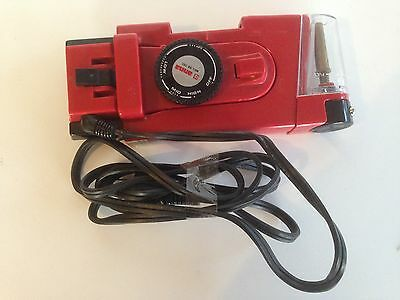 Vintage - Red and Black Travel Iron - Anna MDL:HA-20S - Duel Voltage- Taiwan