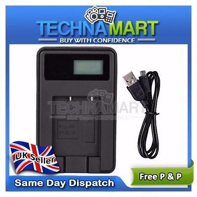 USB Battery Charger NB-11L For Canon PowerShot A2500 A2600 A3400 A3500 UK