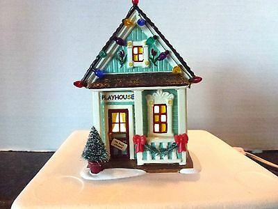 Department 56 Snow Village Let's Play House