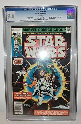 Star Wars #1 (1977) - CGC 9.6 - White Pages - A New Hope