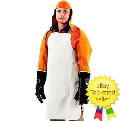 Leather Apron Welding Welder Heat Insulation Clothing Protective Prochoice New!