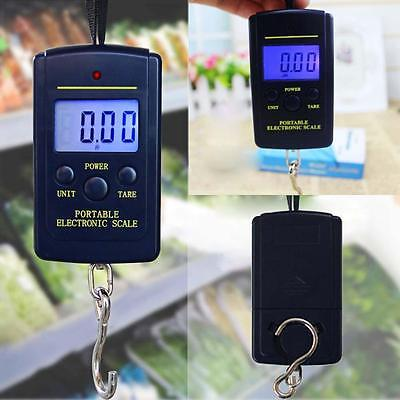Electronic Hanging Fishing Luggage Pocket Portable Digital Weight Scale New P q0