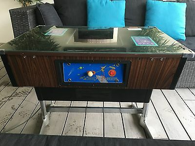 Extremely Rare 1978 /79 Colour Space Invaders Cocktail Table Top