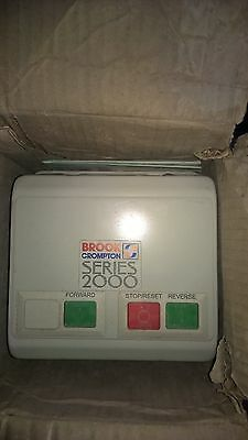 brook Compton Forward Reverse Single Phase Starter 3-5amp Over Load