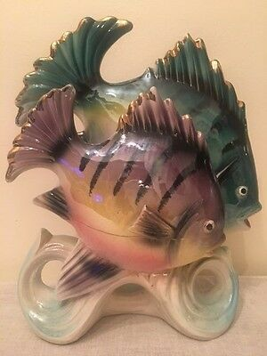 VINTAGE, 1950  60's WEMBLEY WARE STYLE FISH, PEARL LUSTRE, COLLECTABLE