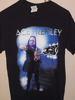 Ace Frehley Kiss T-Shirt Size Ladies Small Space Invader Australian Tour 2015