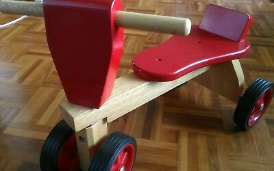 Wooden ride on
