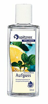 Citrus & Mint Sauna Infusion 190 ml from Spitzner