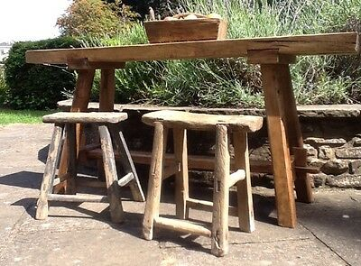 Superior Antique 19th Century Work Bench