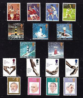 Great Britain stamps - 17 MUH