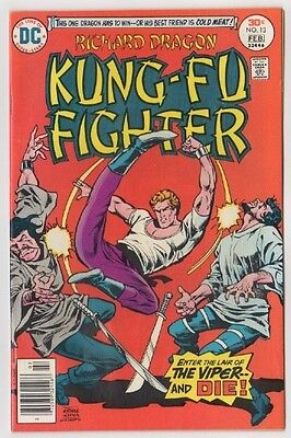 Richard Dragon Kung-Fu Fighter #13 DC Comics Enter The Lair of The Viper & Die!