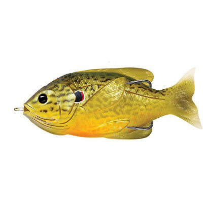 "LiveTarget Fishing Lure Sunfish Hollow Freshwater, 3 1/2"", Topwater"