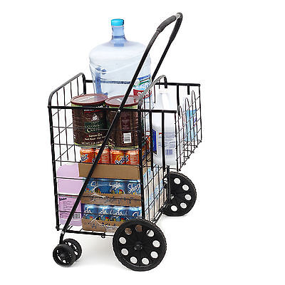 Foldable Shopping Cart with two Baskets