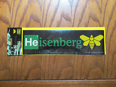 Breaking Bad Bumper Sticker Heisenberg Moth 2013 1194