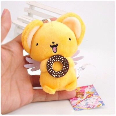 Card Captor Sakura Kero Keroberos With Cookies Plush Toy Keychain Stuffed Doll