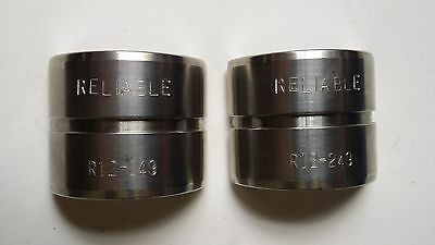 Reliable R12 249, U-Type Compression Die, 12 Ton for Y35 Tools, NEW
