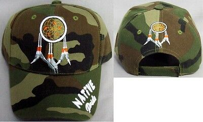 Dream Catcher Native Pride Camo Baseball Caps Embroidered (CapNp219   ) c9af72dfa9c5
