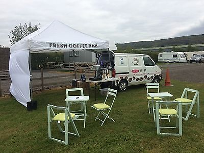 Pop-up Cafe Business & Mobile Coffee shop Barista van. Running & ready to go