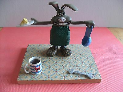Wallace And Gromit Toy Figure Hutch The Curse Of The Were-Rabbit