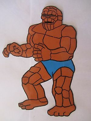 THE THING  Production Cel From the 1960's FANTASTIC FOUR TV Show!  Unique!