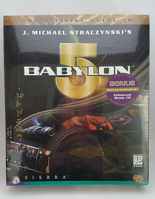 NEW SEALED The Official Guide To Babylon 5 Tour PC/Mac CD-ROM Sierra 1997