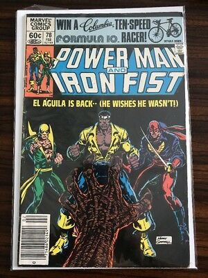 Power Man Iron Fist 1st Series Solid Lot Of 2 #78 & #84 3rd & 4th Sabretooth App