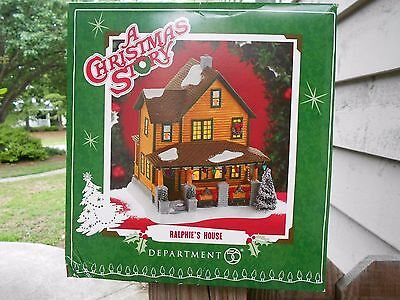 DEPT 56 A CHRISTMAS STORY RALPHIE'S HOUSE NIB *Still Sealed*