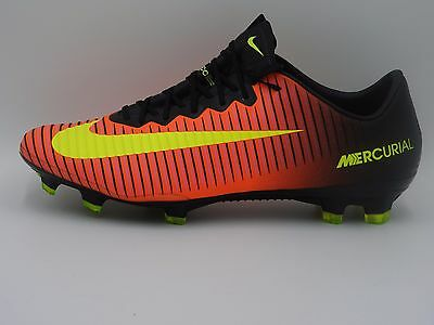 competitive price 8eb8b 52f47 NIKE MERCURIAL VAPOR XI FG ACC Soccer Cleats 831958-870,Crimson,Men's  9,11,13