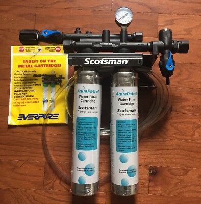 SCOTSMAN / EVERPURE Commercial Double Water Filtration System - Unused!