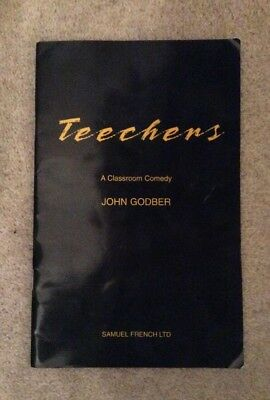 teechers by john godber essay La (bram stoker, adapted by john ginman), teechers (john godber), mother  courage  lieve in the play's message, teechers is what theatre is all about and  a.