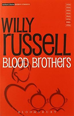 Blood Brothers Methuen Modern Play Modern Classics  Book New Willy Russell