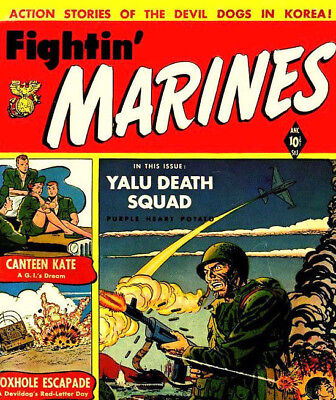 FIGHTIN' AIRFORCE MARINES & NAVY - US Army War Comics 4 Pack on DVD