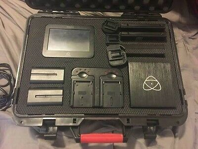 Atomos Ninja 2 10-Bit HDMI recorder plus case and accessories including 128GB HD