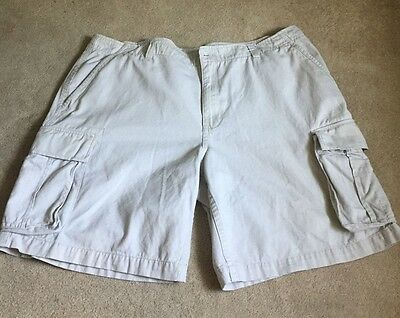 Mens Cargo Shorts Size 42 BIG AND TALL  FADED GLORY 100% Cotton
