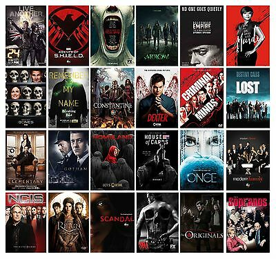 BEST TV SERIES POSTERS Show Print 60+ OPTIONS Variations Home Dec BUY1 GET 2FREE