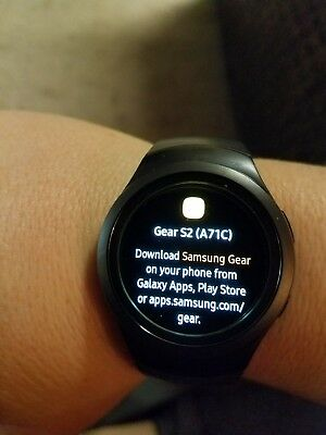 Samsung Galaxy Gear S2 42mm Stainless Steel Case Gray Classic Buckle