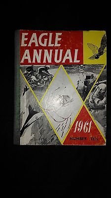Eagle Annual 1961 Number Ten Vintage Hardback Book