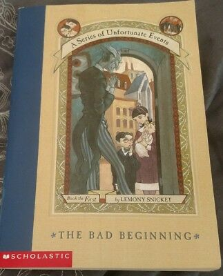 A Series of Unfortunate Events, The Bad Beginning, Book #1