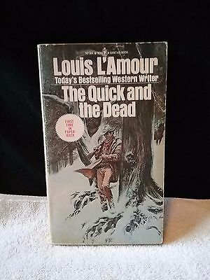 The Quick and the Dead by Louis L'Amour (1973, Paperback) Western