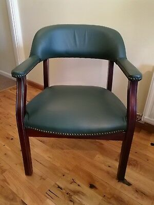 Captains / Office Chair Antique Green