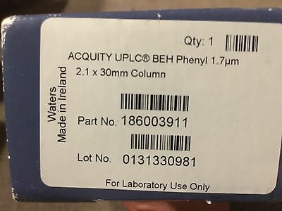 New Waters Acquity BEH Phenyl 2.1x30 1.7u Column