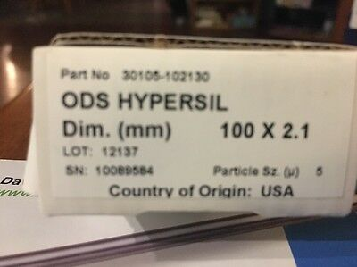 New Sealed Thermo Scientific ODS hypersil 100x2.1 mm 5u HPLC Column