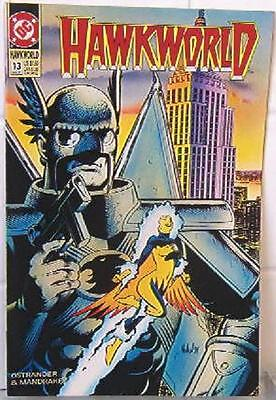 Hawkworld #13 - July 1991 - DC Comics