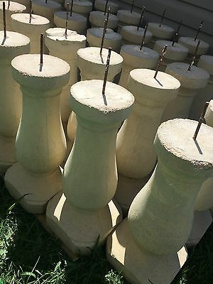 75 Grey Limestone Baluster for landscaping. Great condition. $55 each obo