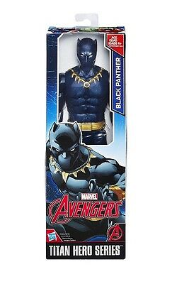 Bnib Titan Hero Series Black Panther Marvel Avengers Figure New Nib