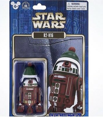 Disney Parks Star Wars R2-H16 Holiday Christmas Droid Factory New with Box