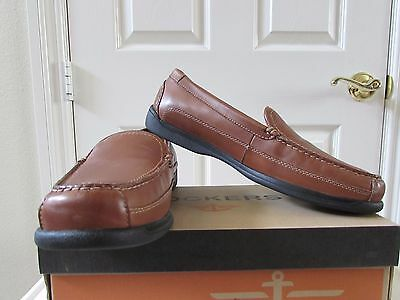 Dockers Men's Catalina Slip-On Dress Leather Shoes Loafers Saddle 12M